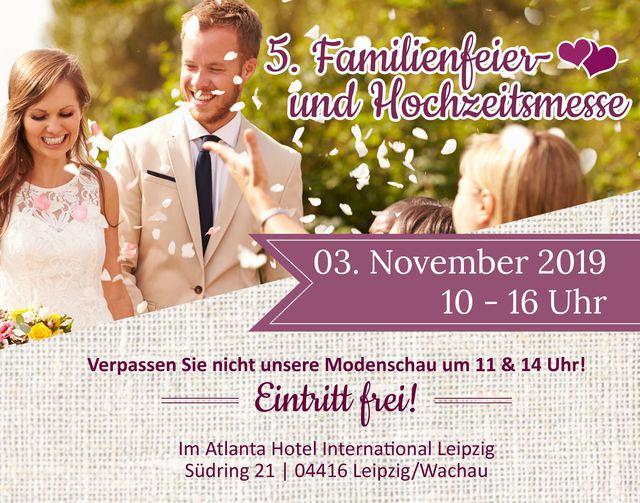 Abb. 5. Hochzeits- und Familienfeiermesse im Atlanta Hotel