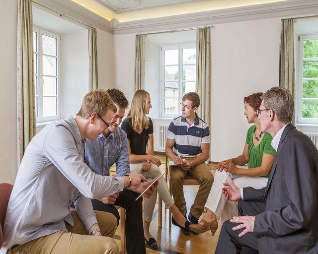 Abb. Seminare und Tagungen in klösterlicher Ruhe