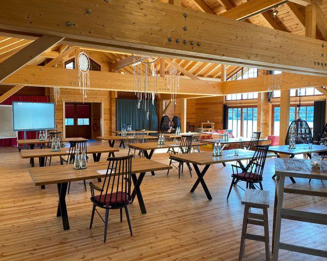 Abb. Neues Tagungskonzept im Dorf am See