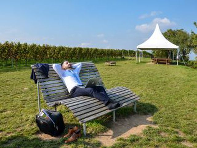 Abb. Tagen auf dem Land mit der Work-Pfalz-Balance