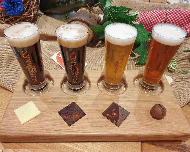 Abb. Erstes Bier-Tasting Set seiner Art