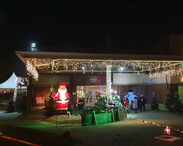 Abb. Drive-In-Weihnacht