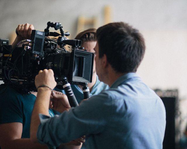 Abb. Filmcrew im Eifelkern