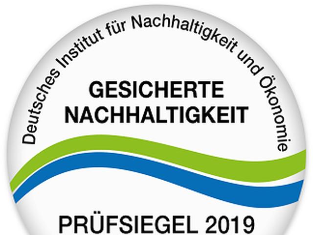 Abb. Gesicherte Nachhaltigkeit auch für 2019