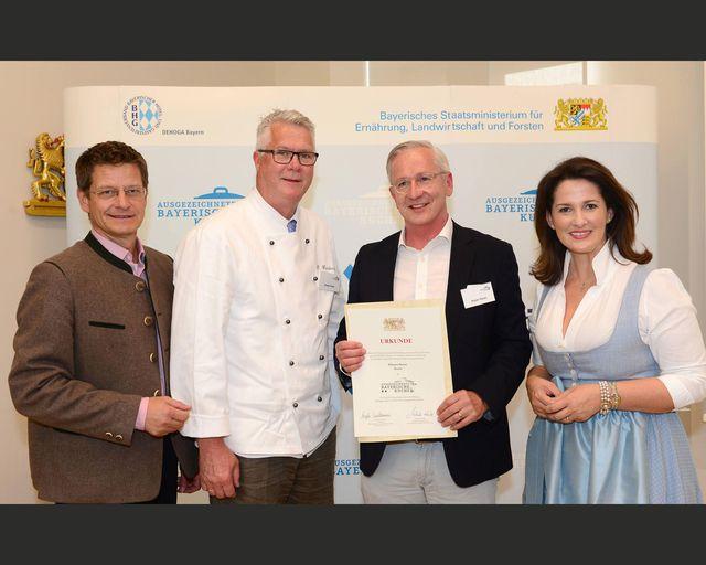 Abb. Ausgezeichnete Bayerische Küche
