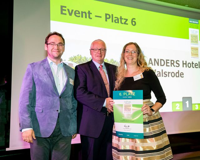 Abb. 12 Jahre TOP 20! ANDERS Hotel Walsrode