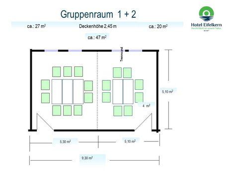 Abb. Gruppenraum 1+2