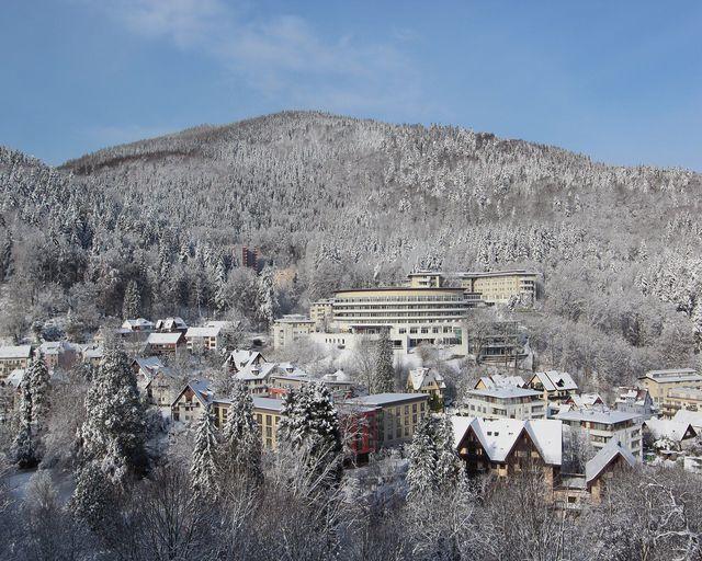 Abb. Coronakonform Tagen im winterlichen Schwarzwald