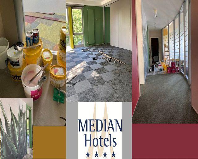 Abb. XXL-Renovierung im MEDIAN Hotel Hannover Lehrte geht weiter…