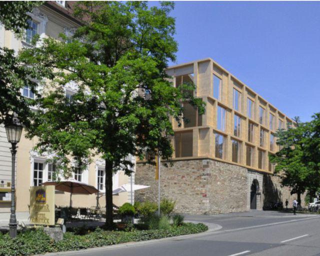 Abb. Hotel Rebstock in Würzburg eröffnet Neubau