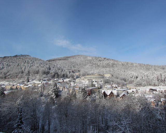 Abb. Nachhaltig tagen im winterlichen Schwarzwald