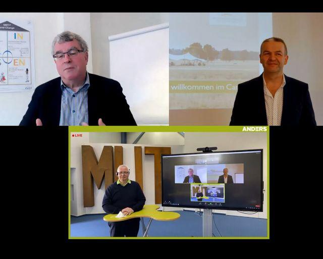 Abb. Weiterbildungsabend im ANDERS Hotel Walsrode sowie im Livestream