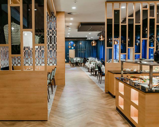 Abb. Restaurant im Hotel am Vitalpark nach Umbau wiedereröffnet