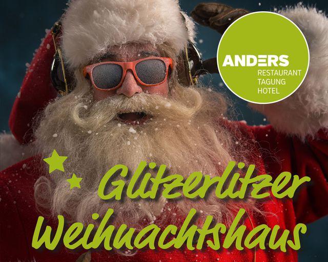 Abb. Ihre Weihnachtsfeier im glitzerlitzer Weihnachtshaus!