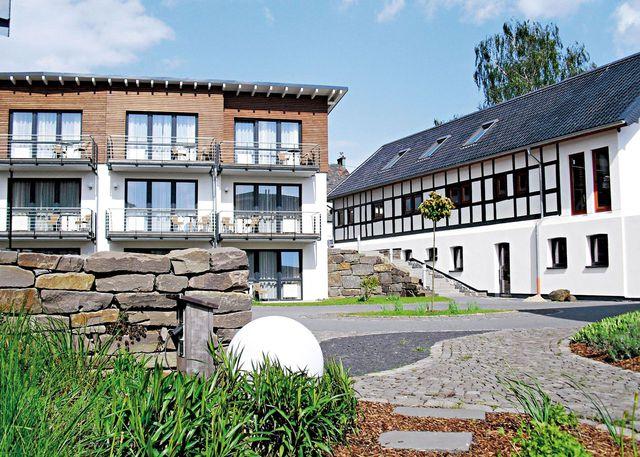 Abb. Golfhotel Gut Heckenhof im Winter – Tagen & Wohlfühlen
