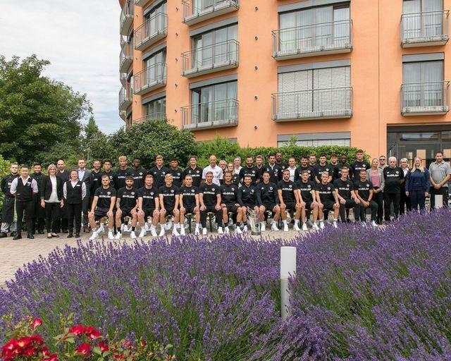 Abb. SG Dynamo Dresden zu Gast im Eichsfeld