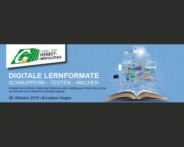 Abb. GABAL Herbst-Impulstag 2019: Digitale Lernformate