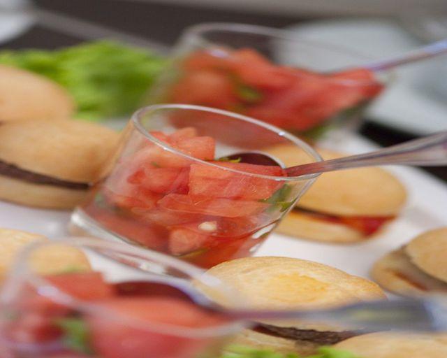 Abb. DANKESCHÖN für Ihre Wahl - Melone Rucola Chilli Rezept